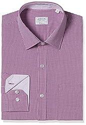 Arrow Men's Formal Shirt (8907378521583_ASSF0278_44_Medium Pink)