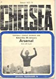 Chelsea v Arsenal official programme 20/01/1973