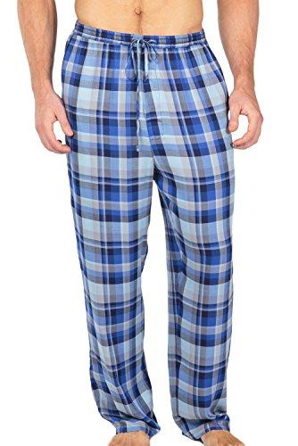 Men'S Jersey Sleep Lounge Pants (Hypnos, Blue / Gray, Xxl) Mb0201-1Ug-Xxl