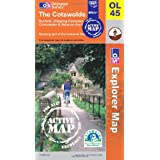 The Cotswolds (OS Explorer Map Active)by Ordnance Survey