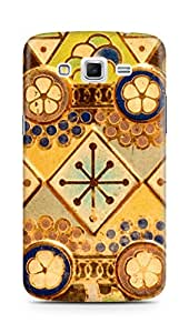 Amez designer printed 3d premium high quality back case cover for Samsung Galaxy Grand 2 G7102 (Antique Christmas Ornaments)
