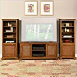 Home Styles Furniture Jamaican Bay 3-Piece Wood Entertainment Center in Sof ....