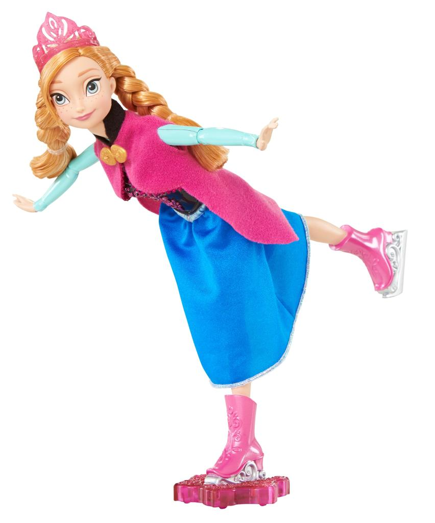 Amazon.com: Disney Frozen Ice Skating Anna Doll: Toys & Games
