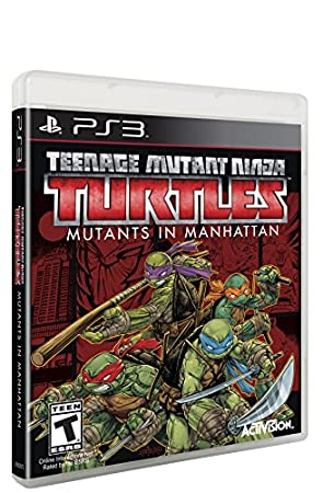 Teenage Mutant Ninja Turtles Mutants in Manhattan - PlayStation 3