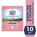 Natural Balance Limited Ingredient Diets Green Pea & Salmon Formula Dry Cat Food, 10 Pounds, Grain Free