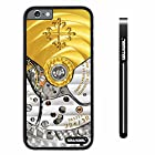 CowCool® Apple iphone 6 4.7 inch Case Hard PC Golden Gear Black Shell Single Layer Protective Case (#3)