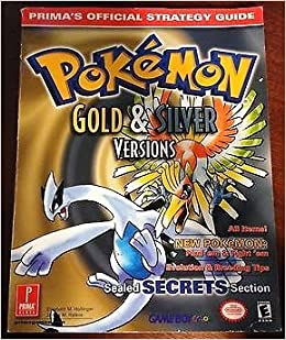 Pokemon gold version strategy guide