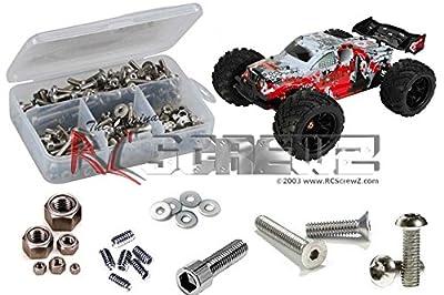 RCScrewZ DHK Hobby Zombie 1/8 Truggy Stainless Steel Screw Kit #dhk004