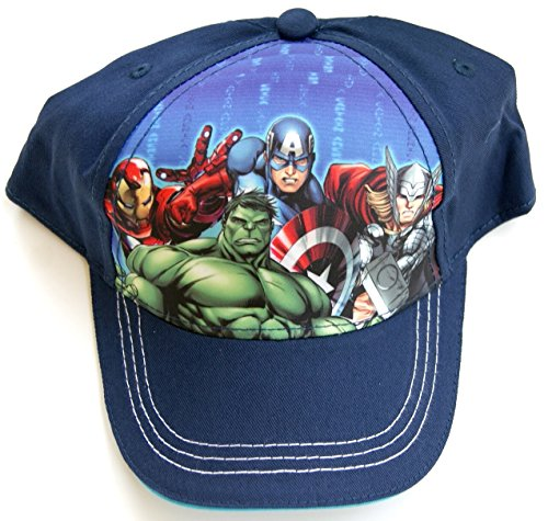 Marvel's Avengers Baseball Cap Hat - Iron Man, Hulk, Captain America, Thor
