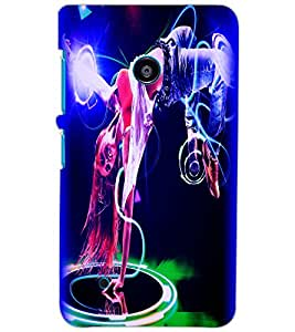 NOKIA LUMIA 530 DANCER Back Cover by PRINTSWAG