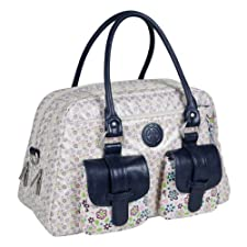Lï¿œssig Changing Bag Vintage Metro Bag Daisy Flower by Lï¿œssig