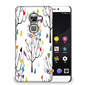Snoogg Colorful Hearts Designer Protective Phone Back Case Cover For Samsung Galaxy J1