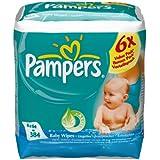 Pampers Lingettes Baby Fresh 6 x 64 Lingettes (Lot de 2) - 768 lingettes