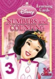 Disney Princess Numbers and Counting Learning/Flash Cards (Dark Pink Box)