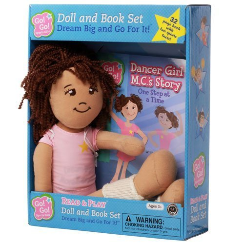 Dancer Girl M. C.'s Story: One Step at a Time: Read & Play Doll and Book Set (Go! Go! Sports Girls) by Douglass Thom, Kara (2014) Paperback
