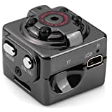 2 Modes HD 1080P, 720P Mini Hide DV Camera Spy Dice Shape Pic/Voice/Video IR Night Vision Home Security Motion Detector for Lawyers Journalists and Business men VA-11
