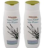 #9: Patanjali Kesh Kanti Milk Protein Hair Cleanser Shampoo, 200ml (Pack of 2)