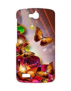Crackndeal Back Cover for Huawei Honor Holly