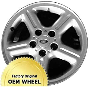 LAND ROVER FREELANDER 16X7 5 SPOKE Factory Oem Wheel Rim- SILVER – Remanufactured