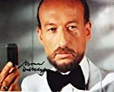 VERNON DOBTCHEFF as Max Kalba - James Bond The Spy Who Loved Me GENUINE AUTOGRAPH