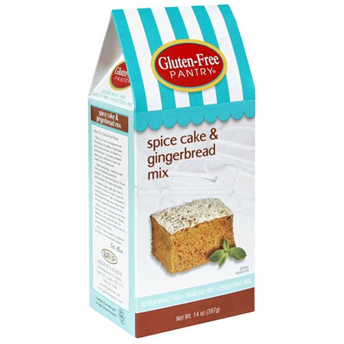 Buy The Gluten-Free Pantry Spice Cake & Gingerbread Mix, 14-Ounce Boxes (Pack of 6) (The Gluten-Free Pantry, Health & Personal Care, Products, Food & Snacks, Baking Supplies, Baking Mixes, Bread Mixes)
