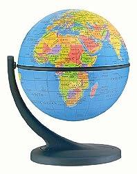 Wonder Table Top World Globe - Blue Ocean