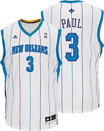 NBA New Orleans Hornets Chris Paul Revolution 30 Home Replica Jersey by adidas