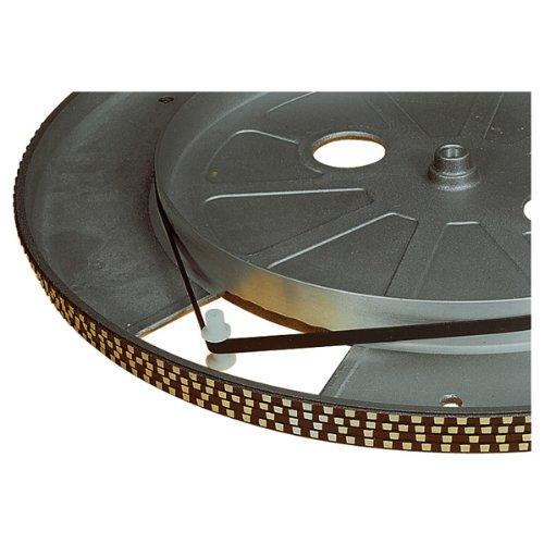 Schwarz 121 mm Plattenspieler Antriebsriemen