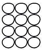 eureka san genbelt 12 pack vacuum cleaner rubber brush roll belt black  e 30563 12pk