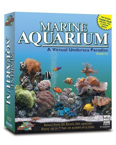 Marine Aquarium 2.5 Virtual Undersea Paradise Win/Mac [Old Version]