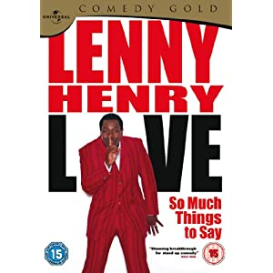 Lenny Henry - So Much Things To Say Live [DVD]