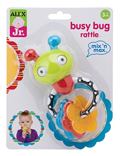 ALEX Toys ALEX Jr. Busy Bug Rattle - 1
