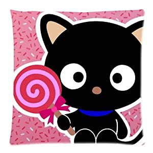 Cute Cartoon Chococat Kawaii Black Cat Pattern by Home PillowCovers