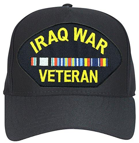 Iraq War Veteran With 3 Ribbons Ball Cap
