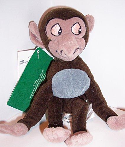 Disney Baby Baboon Bean Bag From Tarzan