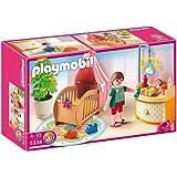 Playmobil - 5334 - Jeu de construction - Chambre de bébé avec berceau