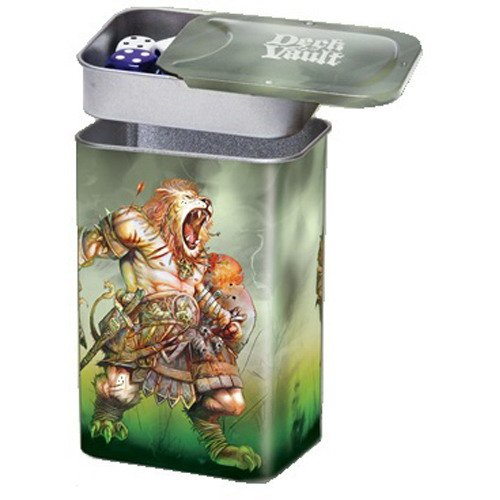 Ultra Pro Nesting Deck Vault Box Darkside Of Oz - Lion - 1