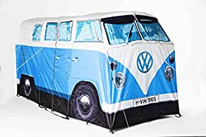 Exact Scale Replica VOLKSWAGEN VW Camper Van Tent in Blue - Sleeps 4 Ideal for your Summer Festival