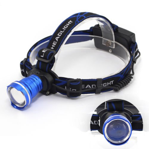 XIDAJE 2000Lm Headlamp Head Torch CREE XM-L T6LED HOT Adjustable Headlight