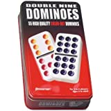 Double Nine Dominoes Tin