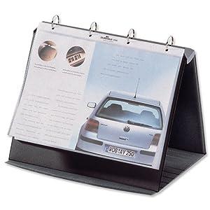 Durable A4 Landscape Durastar Table Top Presenter