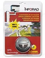 Inforad V4-E + Support Batterie Assistant d'aide à la conduite