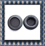 2 PCS Cushion 90mm Pads for Sony MDR V700 Z700DJ Pioneer hdj2000 hdj1000 audio technica ATH-PRO700 ATH-PRO700MK2 High quality Black can be used for other big size headphones New