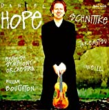 Schnittke: Sonata for Violin &amp; Chamber Orchestra / Concerto Grosso 6 / Weill: Concerto for Violin &amp; Wind Orchestra / Takemitsu: Nostalghia