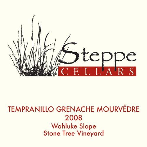 2008 Steppe Cellars Tempranillo - Grenache - Mourvedre, Wahluke Slope 750 Ml