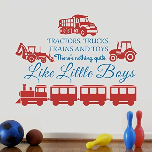 home-decor-cars-trains-trucks-and-toy-vinyl-boy-room-art-sticker-playroom-vinylmediumvehicles-tomato