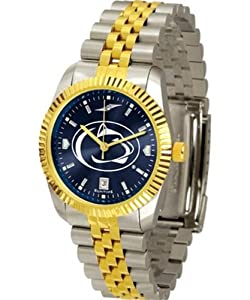 Penn State Nittany Lions NCAA AnoChrome Executive Mens Watch by SunTime