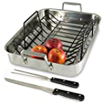 Tri-Ply Stainless Steel Roasting Pan...