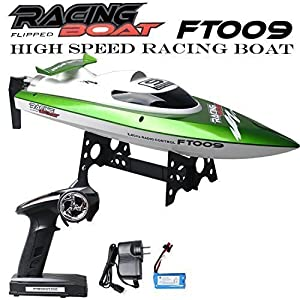 ToyJoy FT009 2.4G RTR Wireless Power High Speed Remote Control Electric/Motor/radio Racing Boat/ship/vessel with battery/charger/LED lamp