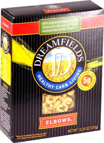 Dreamfields - Low Carb Pasta - Elbows -13.3 ounces